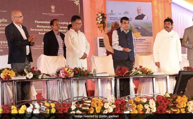 Nitin Gadkari Launches Highway Projects Worth Over Rs 2,300 Crore In Odisha