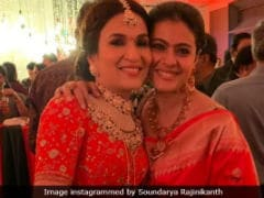 At Soundarya Rajinikanth's Wedding, Kajol Was The <i>VIP</i> Guest