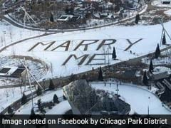 "A Huge Proposal Message In Snow Is Making Netizens Go ""Aww"""