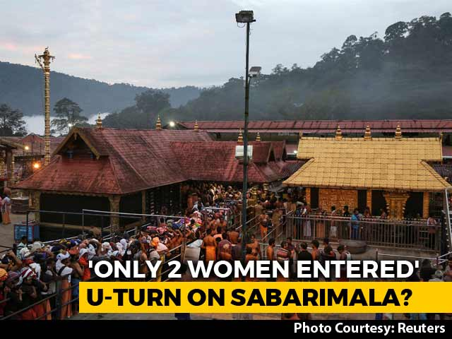 Video : Only 2, Not 51 Women Below 50 Entered Sabarimala, Says Kerala Minister