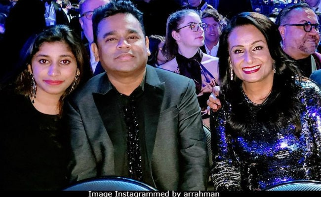 Grammys 2019: AR Rahman's Plus One Was Daughter Raheema. See His Posts