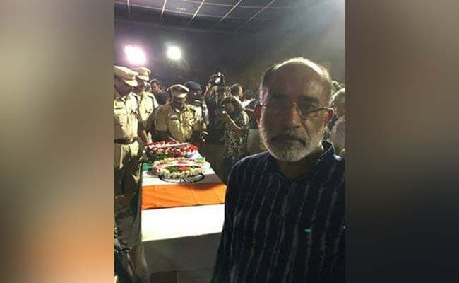 KJ Alphons Files Complaint Over Trolling For Photo With Soldier's Coffin
