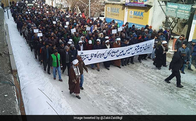 Total Shutdown In Kargil Against Creation Of Ladakh Division