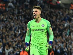 Kepa Arrizabalaga Refuses To Be Subbed, Maurizio Sarri Fumes - Watch