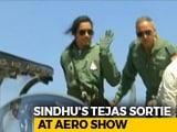 Video : PV Sindhu Flies In Made-In-India Tejas Fighter Jet At Bengaluru Air Show
