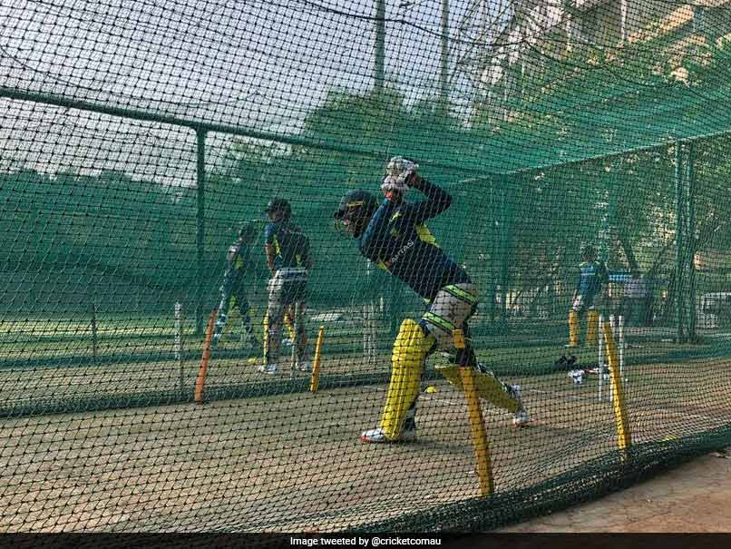 Glenn Maxwell Hits The Nets, Australia Sweat It Out During First Training Session Ahead Of India Series