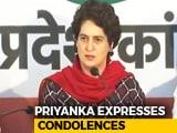 "Video: ""Understand Pain Of Losing A Loved One"": Priyanka Gandhi On Terror Attack"