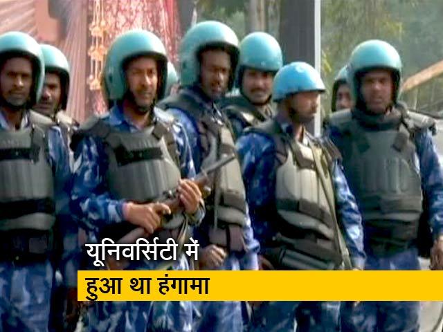 Videos : अलीगढ़: बदसलूकी को लेकर छात्रों पर लगाई गई देशद्रोह की धारा