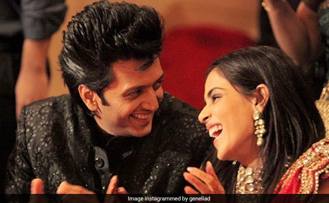 Genelia D'Souza's Heartfelt Note For Riteish Deshmukh On Their Wedding Anniversary