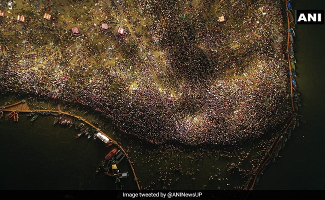 Stunning Pictures Of Maghi Purnima From Kumbh Mela In Prayagraj
