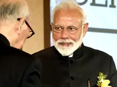 PM Narendra Modi, On Visit To South Korea, Awarded Seoul Peace Prize
