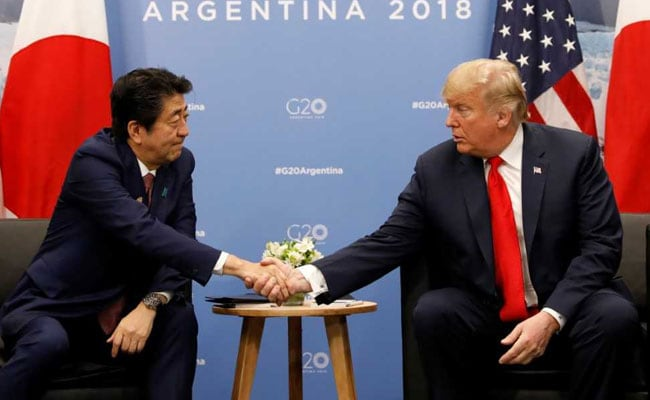 Japan's PM Nominated Trump For Nobel Peace Prize On US Request: Report