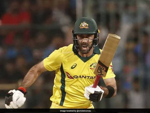 Glenn Maxwell says, Not changing this one, its the best bat ever