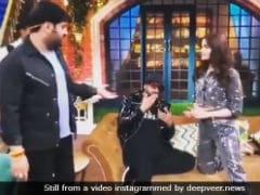 Viral: Wait <i>Na</i>, Kapil Sharma. Ranveer Singh Is Still On The Phone To Deepika Padukone
