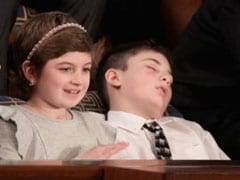 Snooze Of The Union: (Joshua) Trump's Power Nap Is Viral