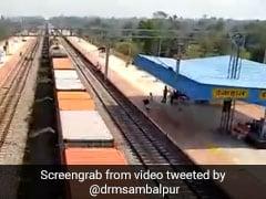 Watch: 2-Kilometre Long Train Runs On Track In Odisha