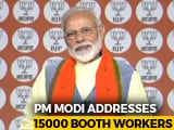 "Video : ""Enemy Wants To Stop Us, India Will Fight, Win As One"": PM At BJP Meet"