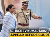 Video : No Arrest For Kolkata Police Chief, Must Cooperate With CBI: Top Court