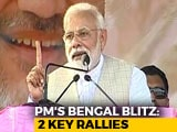 "Video: ""Strangled Democracy In Bengal"": PM Attacks Mamata Banerjee"