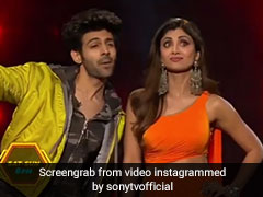 शिल्पा शेट्टी ने कार्तिक आर्यन को देखा तो आई अक्षय कुमार की याद, बोलीं- 'ये खबर छपवा दो...' - देखें Video