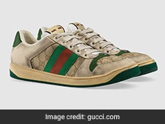 """Ridiculous"": Gucci's ""Dirty"" Sneakers, Sold For $870, Trolled Online"