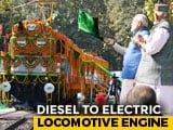 Video : World's First Diesel To Electric Locomotive Engine
