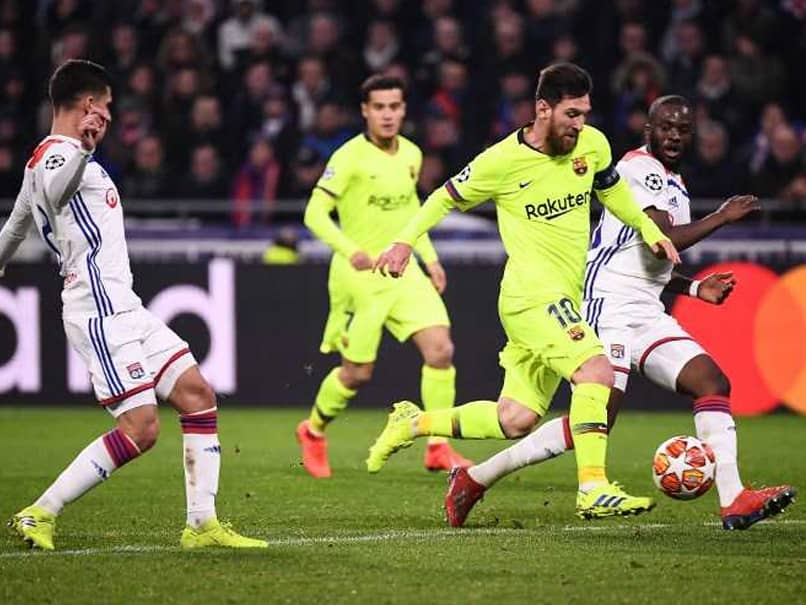 Champions League: Ernesto Valverde Finds Positives As Barcelona Draw Blank In Lyon To Leave Tie Open