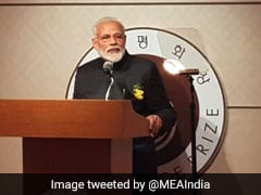 """""""Time To Unite And Act To Completely Eradicate Terror Networks"""": PM Modi"""