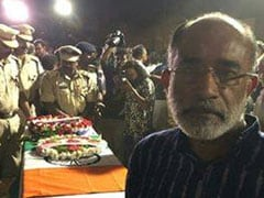 """Insensitive"": Minister Takes Selfie With CRPF Soldier's Coffin, Trolled"
