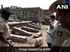 Men Caught On Video Vandalising Pillars At World Heritage Site Hampi