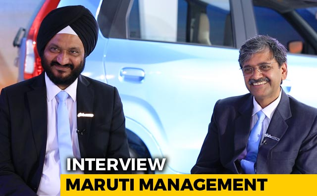 In Conversation With CV Raman and RS Kalsi, Maruti Suzuki India