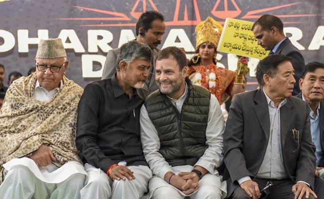 'PM Didn't Follow Raj Dharma': Chandrababu Naidu's Barb Invokes Vajpayee