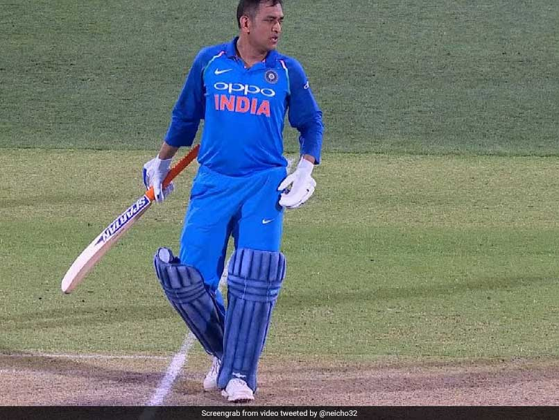 MS Dhoni Runs Away After Stage Fright Before Chahal TV Appearance