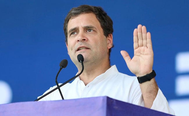 Crop Insurance Scheme Aims Taking Away Farmer's Money: Rahul Gandhi