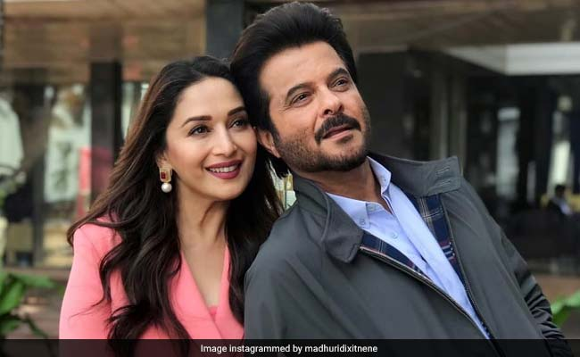 Total Dhamaal: This Pic Of Madhuri Dixit And Anil Kapoor Is All About 'Thodi Masti, Thoda Magic'