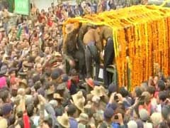 "Officer Was To Come Home For Wedding. Now, ""Amar Rahe"" At Final Journey"