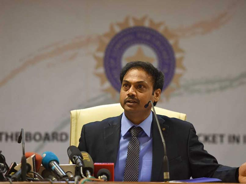 MSK Prasad defends MS Dhoni