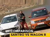 Video : Maruti Suzuki Wagon R Vs Hyundai Santro