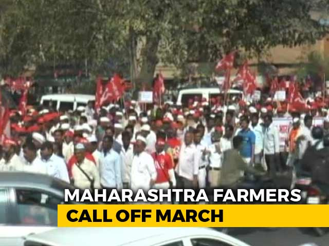 Video : Farmers End March To Mumbai After Talks With Maharashtra Government