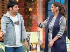 कपिल शर्मा का सानिया मिर्जा ने उड़ाया मजाक, पूछा 'तुम कब सुना रहे हो खुशखबरी'- देखें Video
