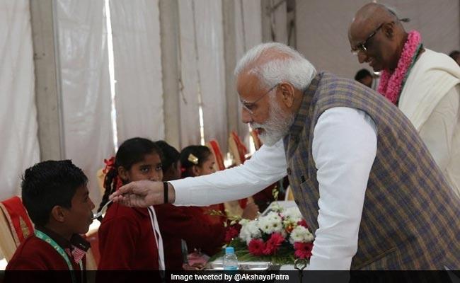 PM Modi Serves 3 Billionth Akshay Patra Meal Today In Vrindavan: LIVE Updates