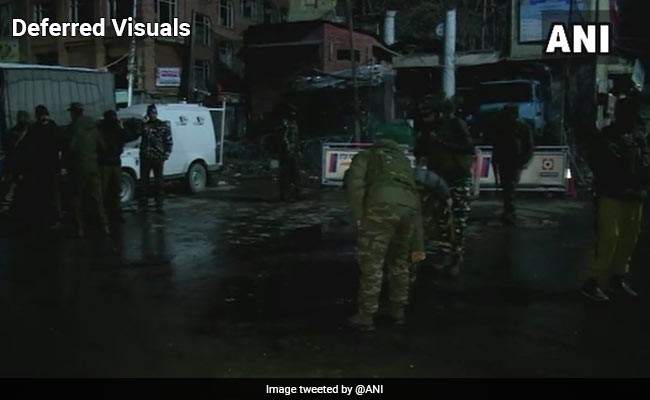 11 Injured In Grenade Attack At Srinagar's Lal Chowk