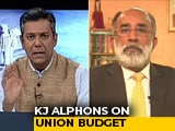 "Video : ""May Not Seem Like Much, But..."": KJ Alphons On Budgetary Handout For Farmers"