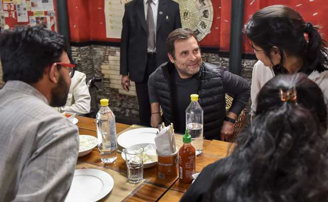 Rahul Gandhi Charms Students During Surprise Dinner Interaction In Delhi