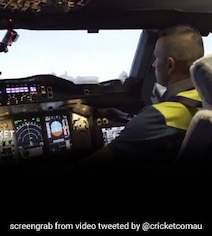 Watch: Cricket Star Takes Control Of Largest Passenger Aircraft In World