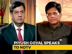Video: 6,000 To Farmers Just A Mark Of Respect: Piyush Goyal To NDTV On Budget
