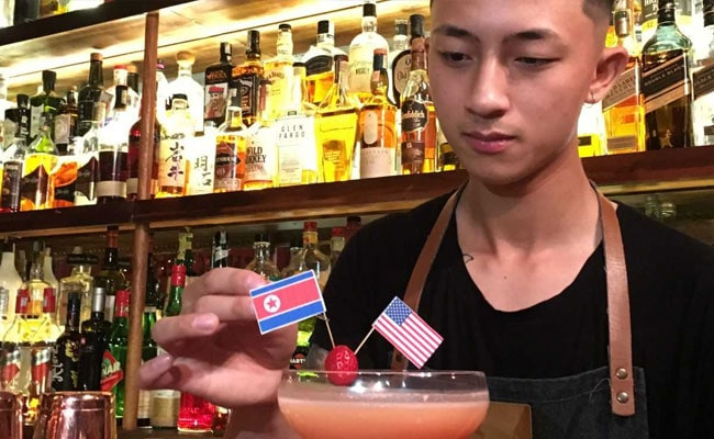 Ahead Of Trump And Kim's Summit, Vietnam Bars Serve 'Peace Negroniations'
