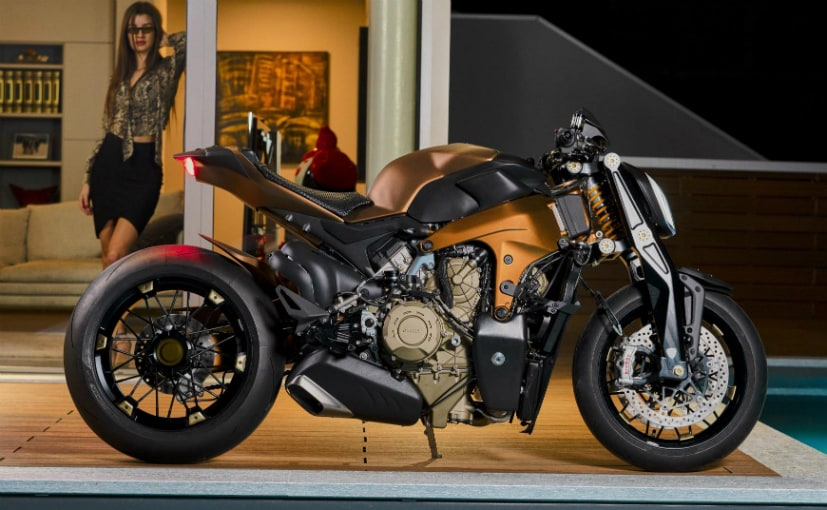 Ducati may be actually working on a production model V4 streetfighter
