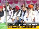 Video : Gujjars Demanding Quota Block Tracks In Rajasthan; Delhi-Mumbai Route Hit