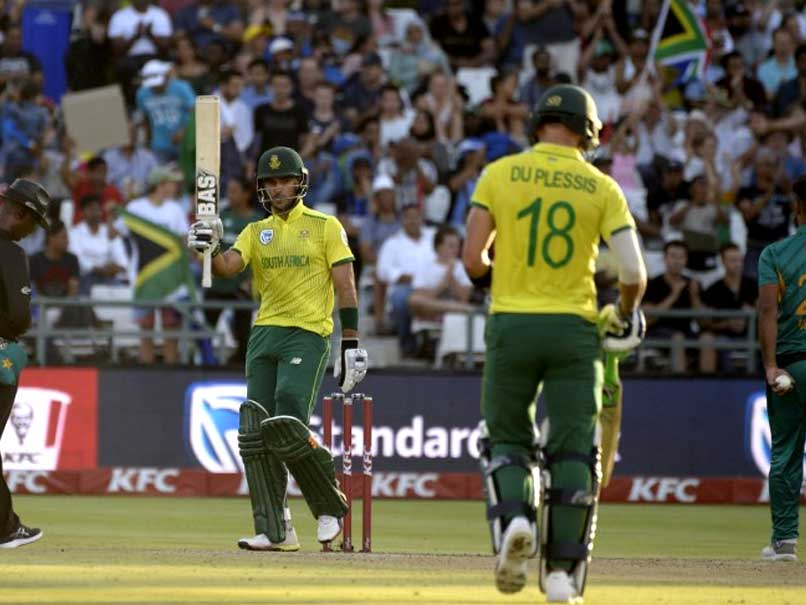 South Africa vs Pakistan, 1st T20I: Faf Du Plessis, Reeza Hendricks End Pakistan